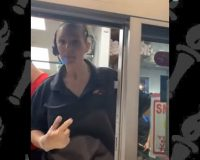 Dairy Queen employee curses at a customer who asked her to wear a mask