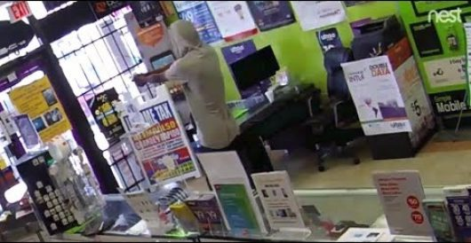 Watch what happens when would-be thief is locked in store he is attempting to rob by LU Staff