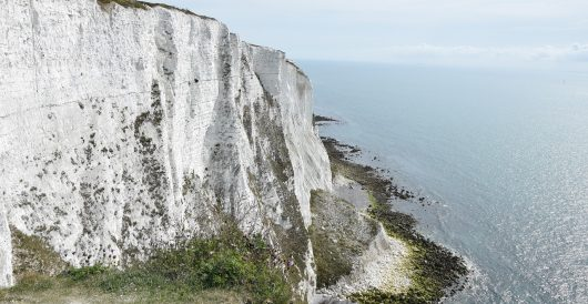 Yes, a Change.org petition sought to change the name of the White Cliffs of Dover to 'BLM Cliffs of Dover' by Ben Bowles