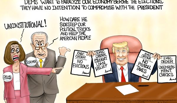 Cartoon of the Day: COVID relief by A. F. Branco