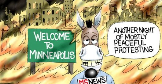 Cartoon of the Day: Mostly peaceful by A. F. Branco