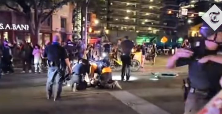 Austin: Army sergeant whose car was surrounded says shot armed protester in self-defense