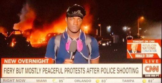 CNN: There's very little rioting, very little violence by Ben Bowles