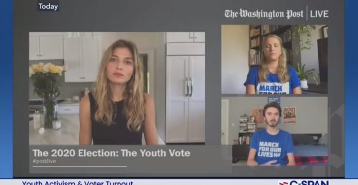 David Hogg has reservations about running for office because he's white