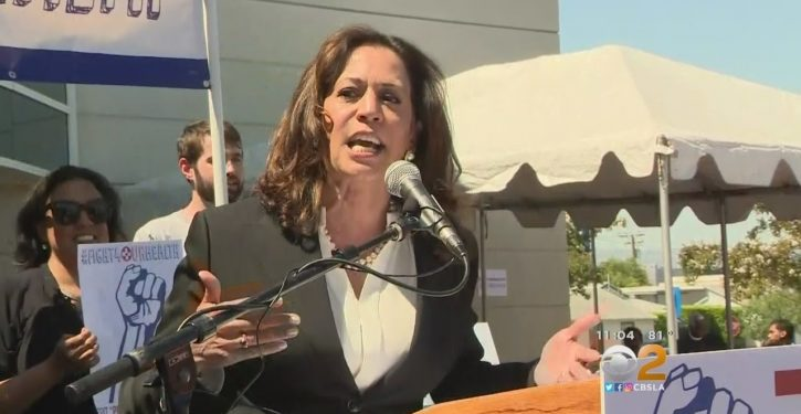 Here's why Sen. Kamala Harris held up an attempt to rescue a struggling Catholic hospital
