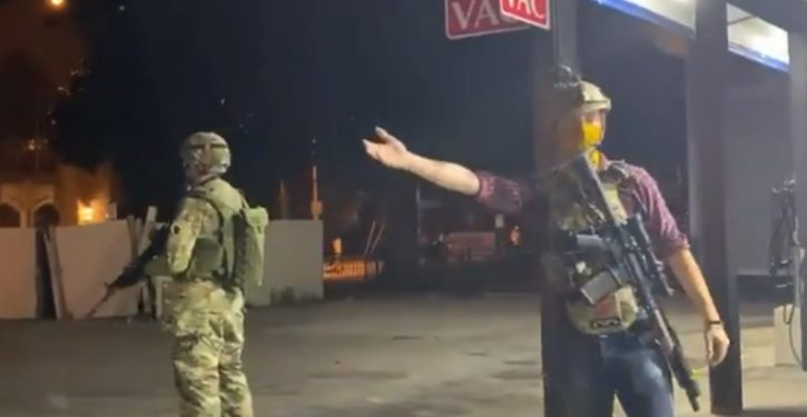 Armed civilians protect some businesses during looting, vandalism, riots in Wisconsin