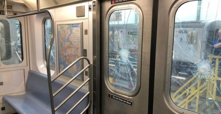 Vandals have smashed so many subway windows, NYC may be forced to cut service