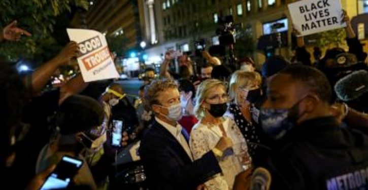 Trump to consider invoking 'insurrection' law after demonstrators attack Rand Paul outside WH