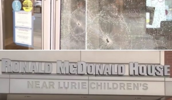 Is nothing sacred? Chicago rioters smash up Ronald McDonald House with sick children inside by Guest Post