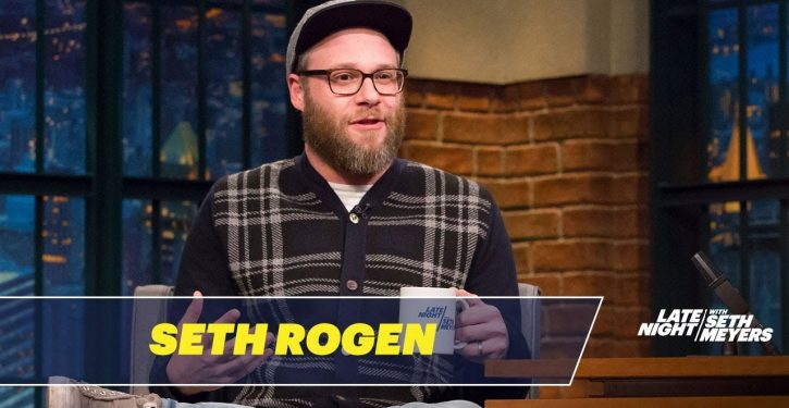 Seth Rogen: I'm 'actively trying to make less [sic] things starring white people'