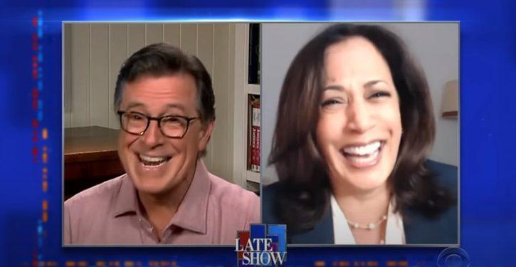 Acting! Kamala Harris admits her near-tearful attack on Biden during debate was pure theatrics