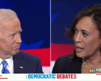 Harris: Americans able to 'breathe easier and sleep better' under Biden