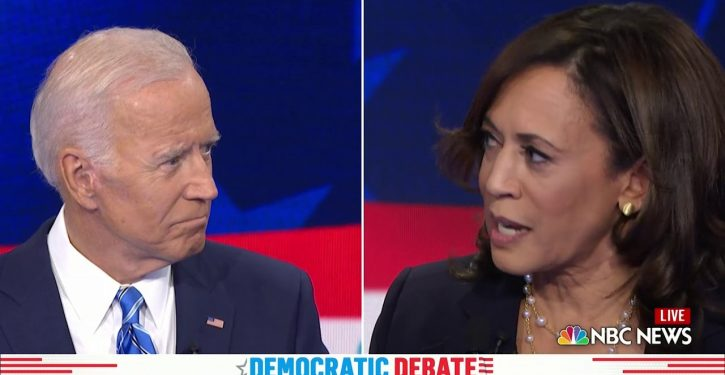 Whose ticket is it, anyway? Kamala refers to 'Harris-Biden administration,' then she gets confirmation