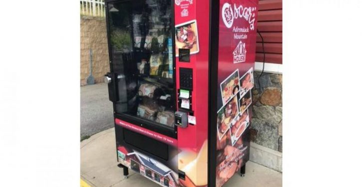 A vending machine that dispenses bacon is now a reality
