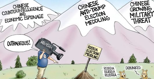 Cartoon of the Day: In plain sight by A. F. Branco