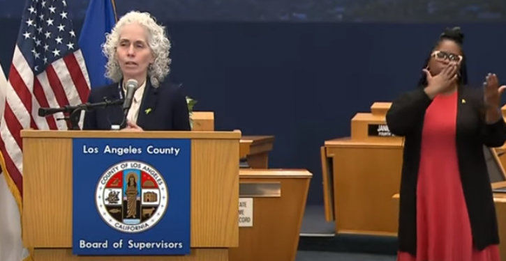 Los Angeles County health director doesn't see schools opening until 'after the election'