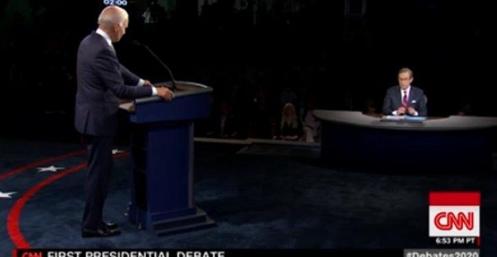 Was Joe Biden wearing a 'wire' during last night's debate?