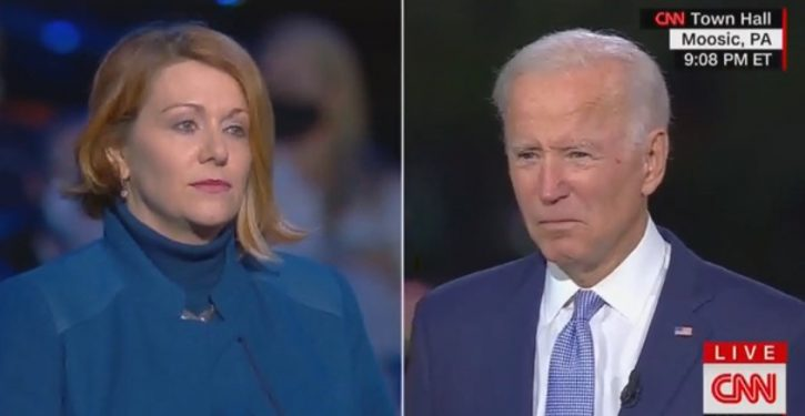 Biden tells potato farmer complaining about overregulation to get job hauling chicken manure