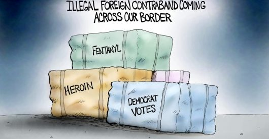 Cartoon of the Day: Illegal contraband by A. F. Branco