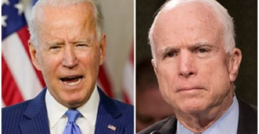 Flashback: Biden mocked John McCain as angry, gutless man by Rusty Weiss