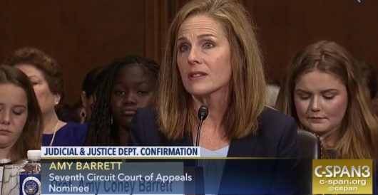 Barrett urges Senate Judiciary Committee not to assume she will judge like Scalia by Daily Caller News Foundation