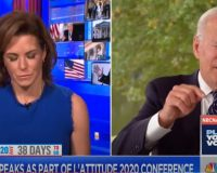 MSNBC host has to help Biden remember what he's talking about