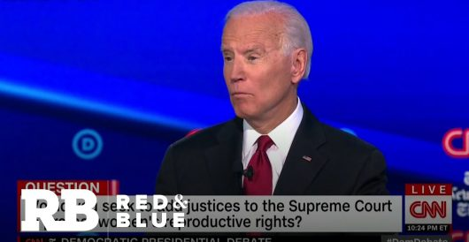 Biden has adopted the 'no red states, no blue states' meme? Seriously? by LU Staff