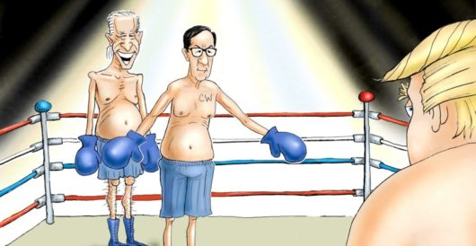 Cartoon of the Day: Tag team by LU Staff