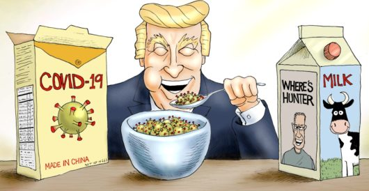 Cartoon of the Day: Bon appetit! by A. F. Branco