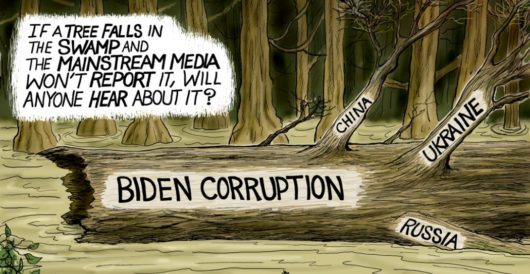 Cartoon of the Day: Swamp Thing by A. F. Branco
