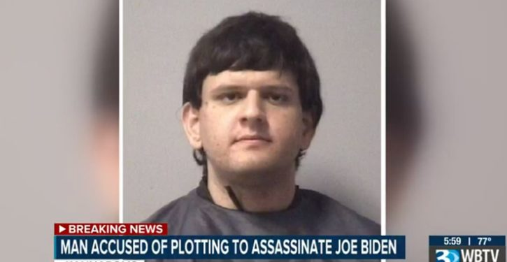 Man alleged to have researched killing Joe Biden was arrested in May; held on child porn charges