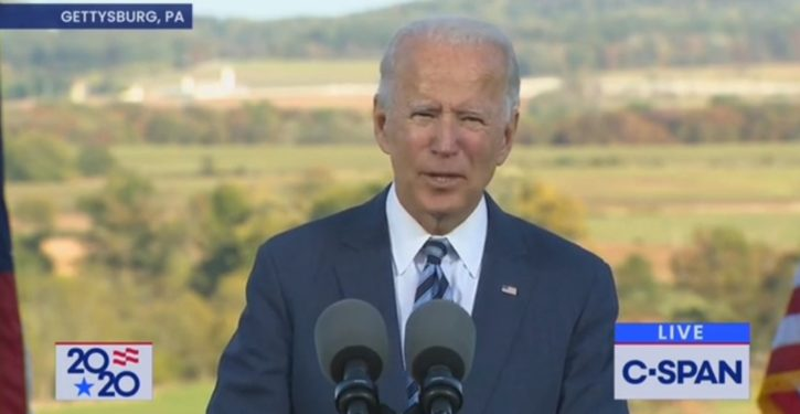 Biden has already answered the question of whether he would pack the court