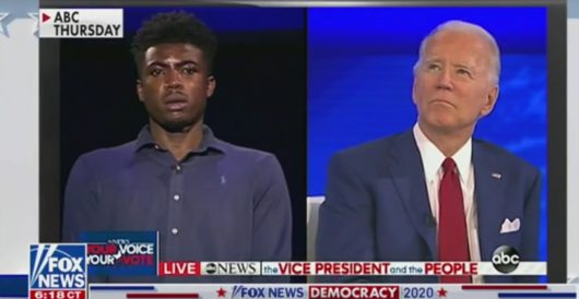 Biden asked during town hall about 'you ain't black' remark. Shoots self in foot by LU Staff
