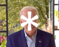 Our choice is Joe Biden (with an asterisk)
