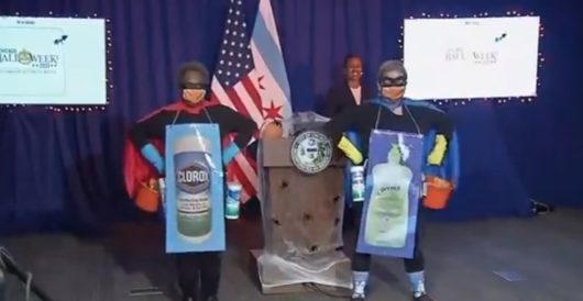 U.S. public official masks up as superhero to encourage coronavirus hygiene by LU Staff