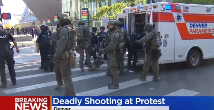 Man shot dead at protests in Denver; police uncertain of victim's, suspect's protest involvement