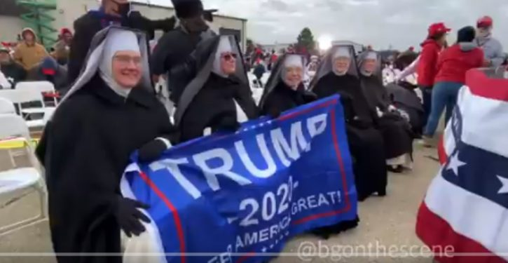 New low? Nuns doxxed on social media after they support Trump for pro-life stance