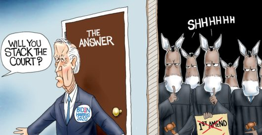 Cartoon of the Day: Shut door policy by A. F. Branco