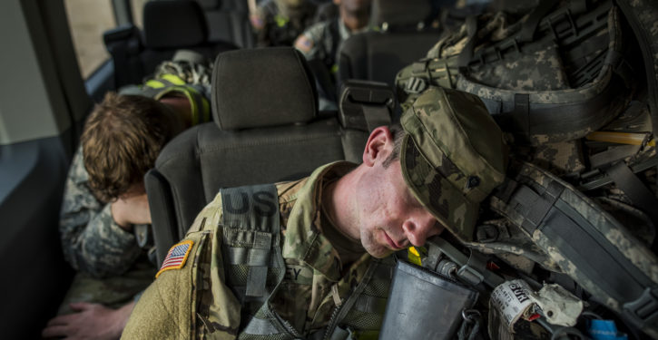 The Army's latest defense tactics are napping, meditation and warm baths