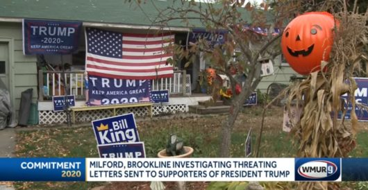 Liberals threaten Trump supporters with arson if president does not concede election by Joe Newby