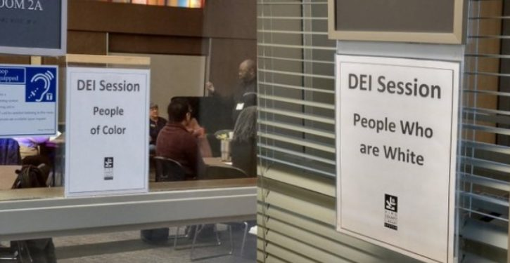 Library accused of racial segregation after photo of race-sensitive training goes viral