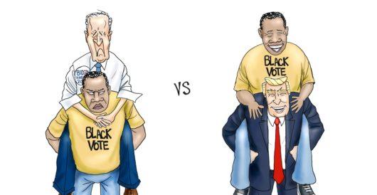 Cartoon bonus: The black vote by A. F. Branco