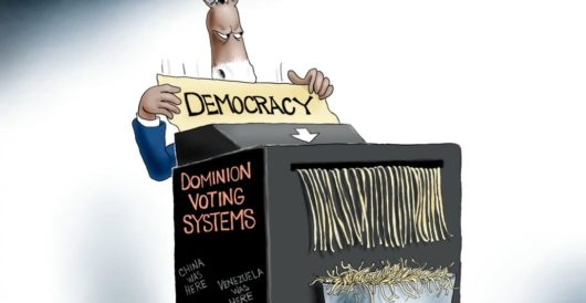 Cartoon of the Day: Democracy dies in darkness by A. F. Branco