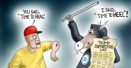 Cartoon of the Day: Resist we much by A. F. Branco