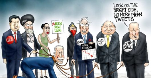 Cartoon of the Day: The new abnormal by A. F. Branco