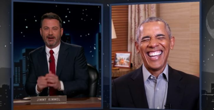 Obama's latest light-hearted joke: Use Navy SEALs to eject Trump from White House