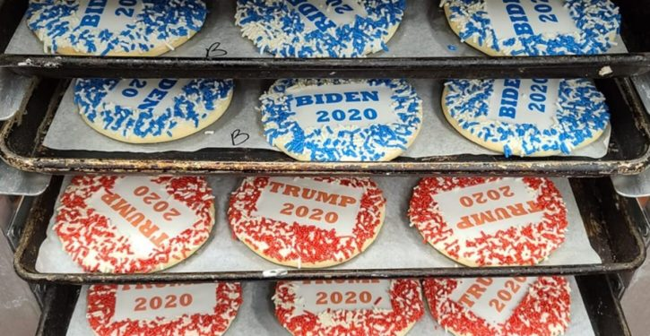 Pennsylvania bakery offering Trump, Biden cookies says one is way outselling the other
