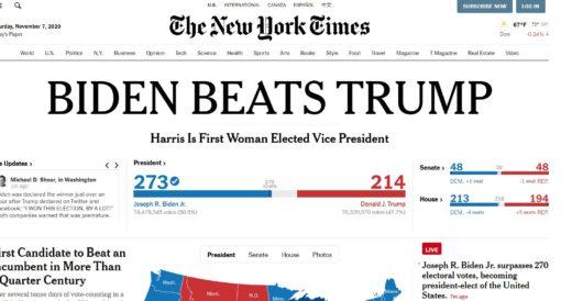 Biden wins? by LU Staff
