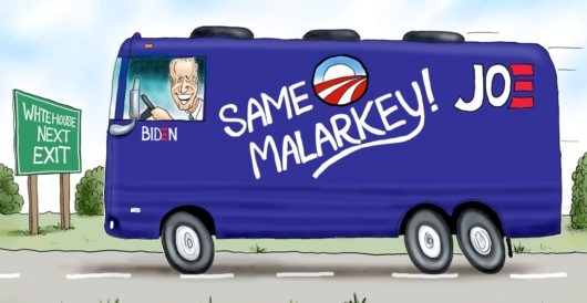 Cartoon of the Day: No(thing but) Malarkey by A. F. Branco
