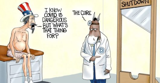 Cartoon of the Day: Political malpractice by A. F. Branco